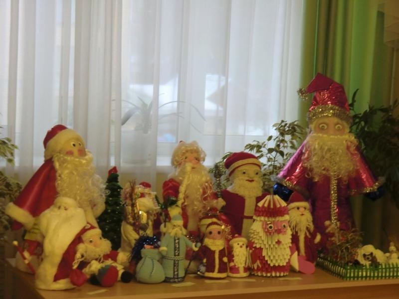 Конкурс поделок Российский Дед мороз