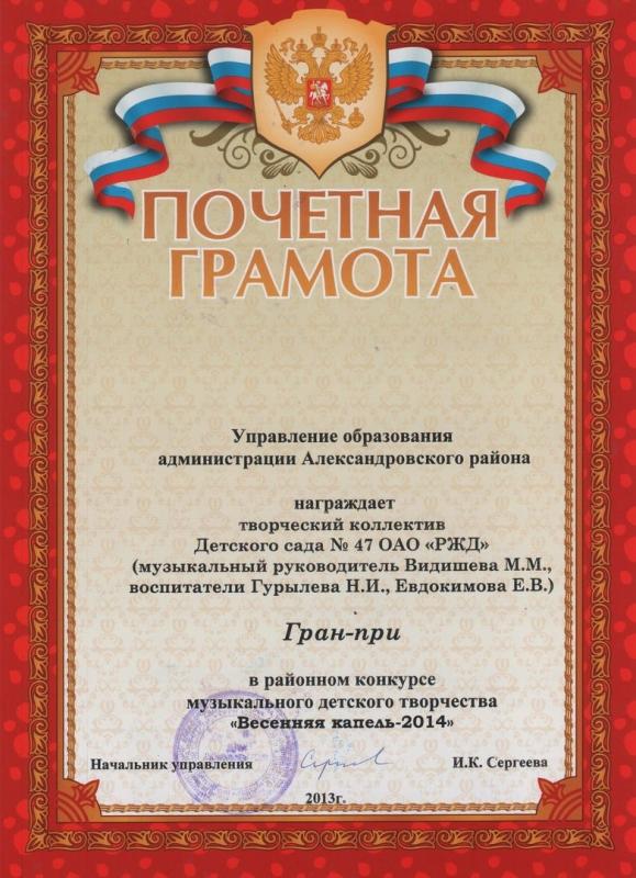Участие в районном конкурсе Весенняя капель_3