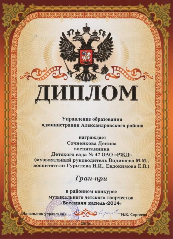 Участие в районном конкурсе Весенняя капель_4