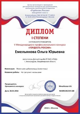 Емельянова 1 место Волонтерство_1