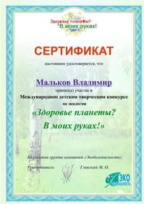 Международный конкурс Дипломы Экология_1