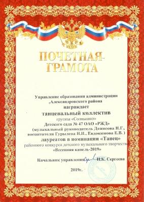 Солнышки Капель-2019_1
